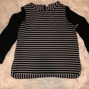 Old Navy Long sleeve striped top